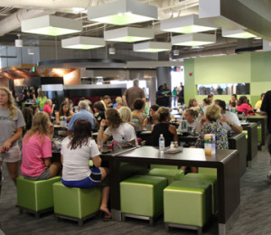 Student Dining Halls as a Recruitment Tool