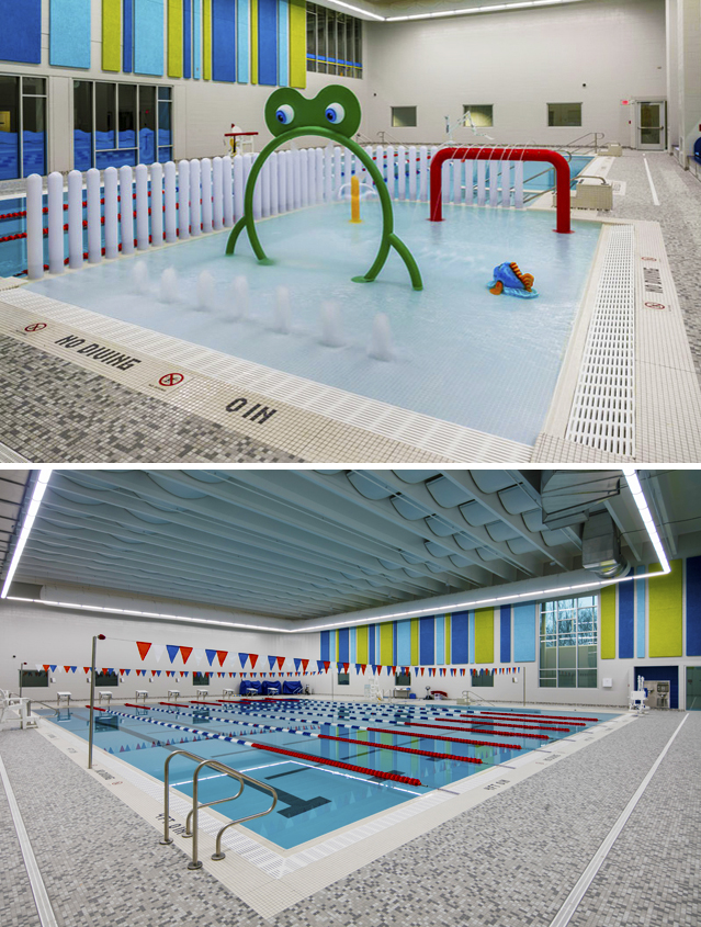 MFB YMCA pool area