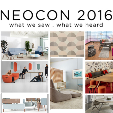 Neocon 2016 insights