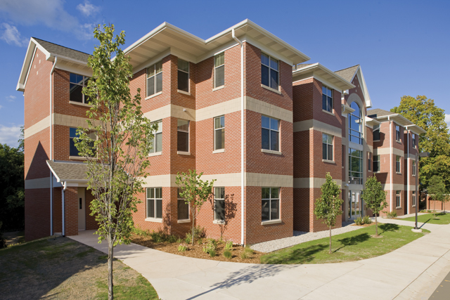 student housing, on-campus housing designed by Progressive AE