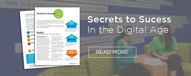 secrets to success in the digital age by progressive ae
