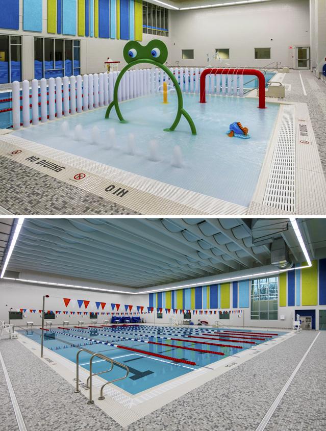 MFB YMCA pool area