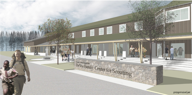 Devos Family Center for Scouting
