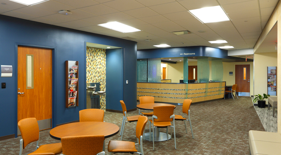 Mercy Health Saint Mary S Entry And Waiting Area
