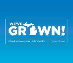Progressive AE Announces New Office in Holland, MI