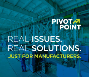 PivotPoint Manufacturing Event: March 13, 2019