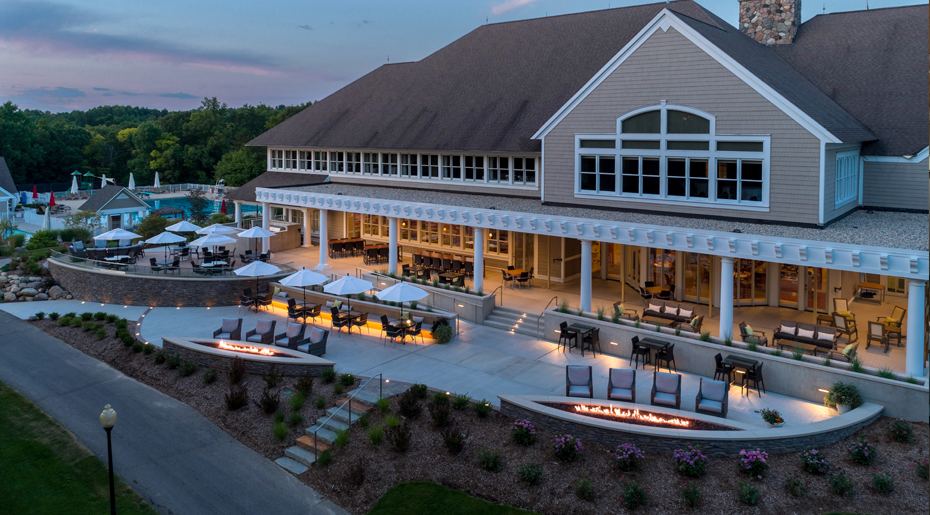 Egypt Valley Country Club Patio Progressive Ae